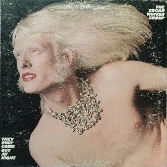 The Edgar Winter Group ‎– They Only Come Out At Night - Mint- Lp Record 1972 Epic USA Vinyl - Classic Rock / Blues Rock