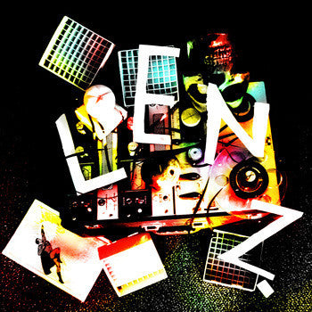 Lenz - Under Neon - New Vinyl - 2012 Tic Tac Totally! (Chicago Label) - Indie Rock