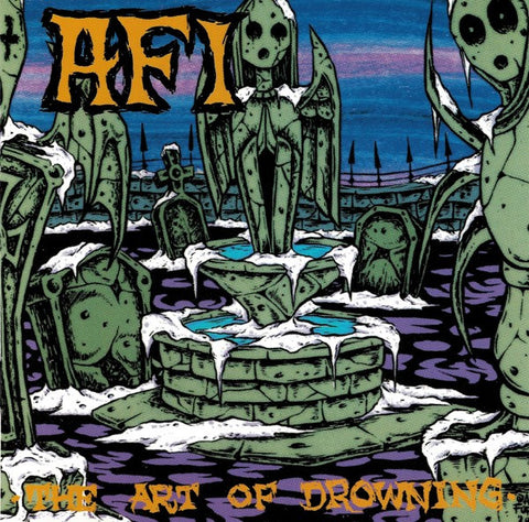 AFI - The Art of Drowning - New Lp Record 2014 Nitro Records Reissue - Punk / Hardcore