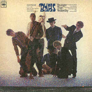 The Byrds ‎– Younger Than Yesterday - VG 1967 Mono Original Press USA - Psychedelic Rock