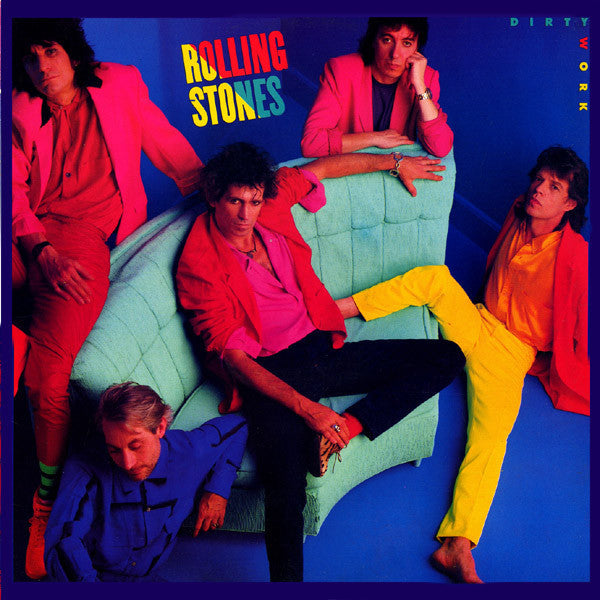 The Rolling Stones ‎– Dirty Work - Mint- 1986 USA (Original Press) - Rock