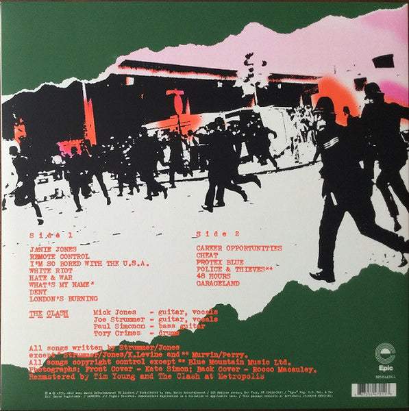 The Clash - The Clash (1977) - New LP Record 2013 Epic USA 180 gram Vinyl - Punk Rock