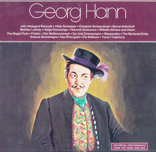 Georg Hann ‎– Historical Performances From The Years 1938-1945 - New Vinyl (Shrink Torn @Bottom) 1973 (Original Press) USA Stereo - Classical