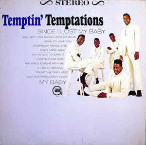 The Temptations ‎– The Temptin' Temptations - VG+ 1965 Stereo Original Press USA - Soul