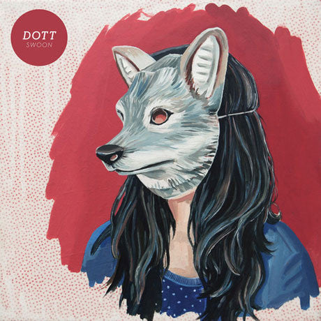 Dott - Swoon - New Vinyl 2013 Graveface Records Limited Edition Clear Vinyl + Download - Fuzzy / Noisey Garage-Pop gals from Galway, Ireland!