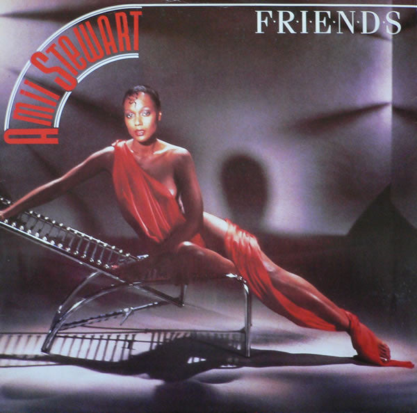 "Amii Stewart – Friends - Mint- 12"" Single 1985 USA - Soul/Funk"