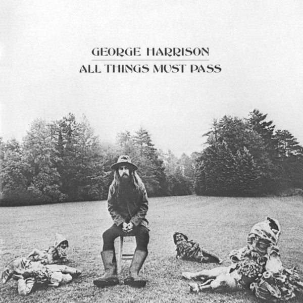 George Harrison – All Things Must Pass - VG+ 1970 USA 3 Lp (No Poster) - B17-067