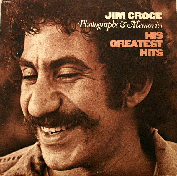 Jim Croce ‎– Photographs & Memories His Greatest Hits - VG+ Lp Record 1974 Original Vinyl USA - Pop Rock