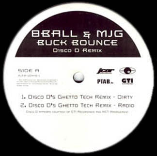 "8 Ball & MJG - Buck Bounce MINT- 12"" Promo Single 2001 Interscope - Hip Hop"