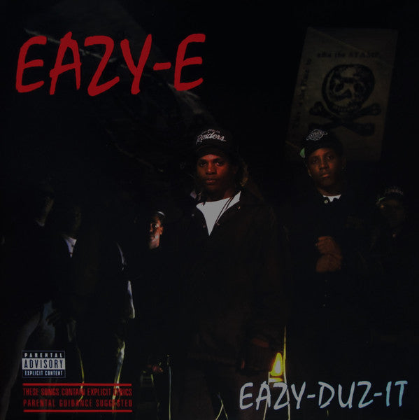 Eazy-E - Eazy-Duz-It - New Vinyl 2013 Priority Records Reissue of Eazy's Debut LP
