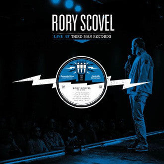 Rory Scovel - Live at Third Man - New Vinyl 2013 Third Man USA - Comedy / Spoken Word
