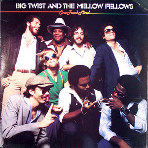 Big Twist & The Mellow Fellows - One Track Mind - VG 1982 Stereo USA - Chicago Blues