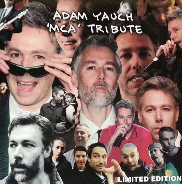 Beastie Boys / MCA ‎– Adam Yauch 'MCA' Tribute - New Vinyl Record 2016 Limited Edition Import Pressing on Clear Vinyl - Hip Hop