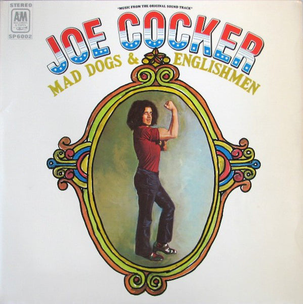Joe Cocker ‎– Mad Dogs & Englishmen - VG+ 2 Lp Record 1970 Stereo USA Original With Poster Cover - Classic Rock
