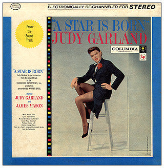 Judy Garland ‎– A Star Is Born (1954) - VG+ Lp Record 1958 CBS USA Mono Vinyl - Soundtrack