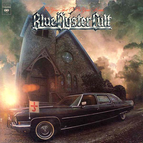 Blue Oyster Cult ‎– On Your Feet Or On Your Knees - VG+ 1975 Stereo USA 2 Lp Set - Rock