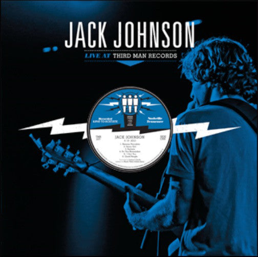 Jack Johnson - Live at Third Man - New Vinyl 2013 Third Man USA - Rock/Blues