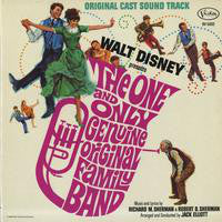 Walt Disney - The One And Only Genuine Original Family Band - VG+ 1968 Stereo USA - Soundtrack