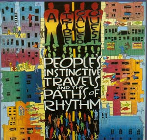 A Tribe Called Quest - People's Instinctive Travels and the Paths of Rhythm - New Vinyl 2-LP Jive Reissue - Shuga Records Chicago