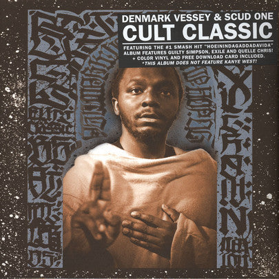 Denmark Vessey & Scud One - Cult Classic - New Vinyl Record 2014 Reissue on Red Vinyl w/ MP3 Download - Features Guilty Simpson, Exile & Quelle Chris- Rap/HipHop
