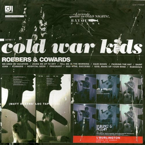Cold War Kids - Robbers & Cowards - New LP Record 2014 USA Vinyl & Download - Indie Rock / Garage Rock