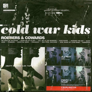 Cold War Kids - Robbers & Cowards - New LP Record 2014 Downtown Music USA Vinyl & Download - Indie Rock / Garage Rock