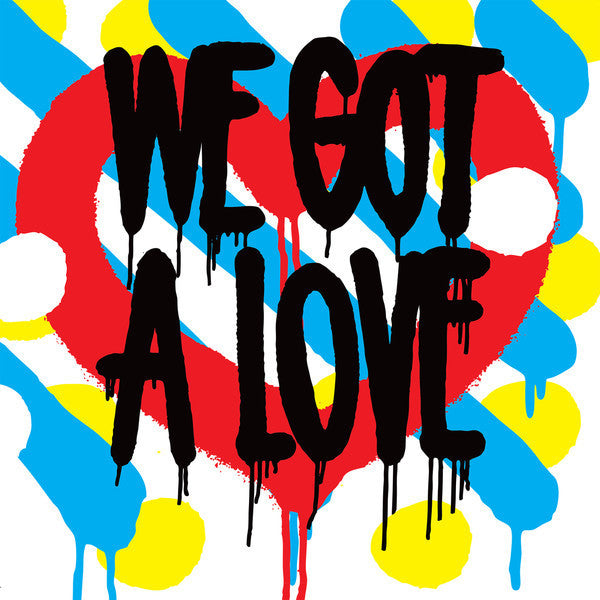 Shit Robot - We Got A Love - New Vinyl 2014 DFA Gatefold 2-LP + Download - Electronic / Electro / Disco