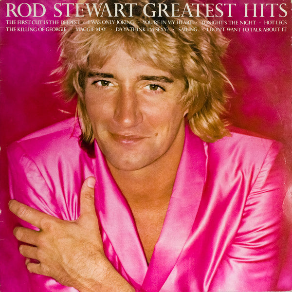 Rod Stewart ‎– Greatest Hits - VG+ Lp Record 1979 USA Original Vinyl - Pop Rock