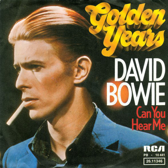 David Bowie - Golden Years - New Vinyl Record 2015 Parlophone EU Limited 40th Anniversary 7""
