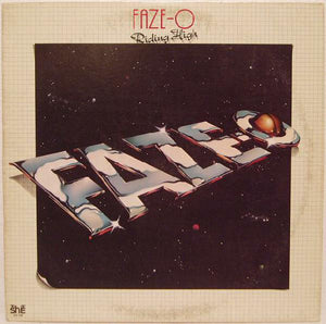 Faze-O ‎– Riding High - VG+ Stereo 1977 USA Original Press - Soul / Funk