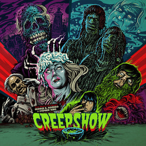"John Harrison - Creepshow - New Vinyl Record 2015 on 180 Gram Purple Vinyl (Harrison also scored ""Day of the Dead"" & ""Tales from the Darkside"") - Soundtrack"