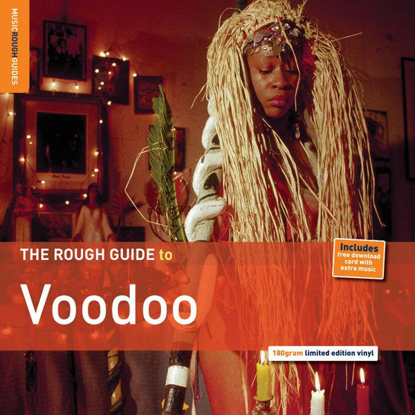 Compilation ‎– The Rough Guide To Voodoo - New Vinyl Record - (RSD) Record Store Day 2014 Ltd Ed 180 Gram (1200 Made)
