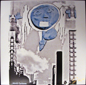 Lamposts ‎– ...Adolt Cartoon - New Vinyl Record 2013 USA (Limited Press With Insert & Sticker) - Punk/Rock