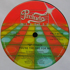 """D"" Train - You're the One for Me VG- 1981 Prelude 12"" Single - Disco - Shuga Records Chicago"