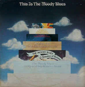 The Moody Blues ‎– This Is The Moody Blues - VG 2 Lp Record 1970 Threshold USA Original Vinyl - Classic Rock / Psychedelic Rock