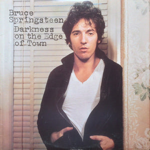 Bruce Springsteen ‎– Darkness On The Edge Of Town  VG Lp Record 1978 USA Original Vinyl & Insert & Inner Sleeve - Pop Rock