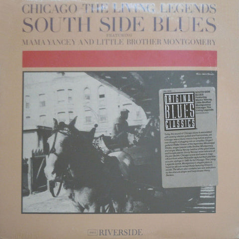 Chicago : The Living Legends, South Side Blues - New Vinyl Record Reissue