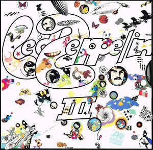 Led Zeppelin ‎– Led Zeppelin III - VG+ (cover VG-) Lp Record 1970 Stereo USA Original Vinyl - Classic Rock