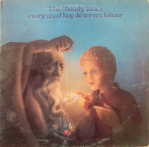 The Moody Blues - Every Good Boy Deserves Favour - VG+ LP Record 1971 Threshold USA Vinyl - Psychedelic Rock
