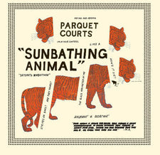 Parquet Courts - Sunbathing Animal - New Vinyl 2014 What's Your Rupture? Gatefold Pressing - Indie / Post-Punk