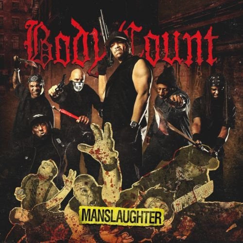 Body Count - Manslaughter - New Vinyl Record 2014 Sumerian Limited Edition 2-LP Red Splatter Vinyl w/ Download - Metal
