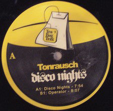 "Tonrausch ‎– Disco Nights - Mint 12"" Single 2005 UK Import - House / Disco"