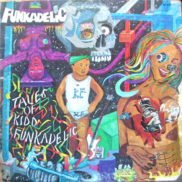 Funkadelic - Tales of Kidd Funkadelic - New Vinyl Record 2011 4 Men With Beards Limited Edition Gatefold 180gram Vinyl Reissue - Funk