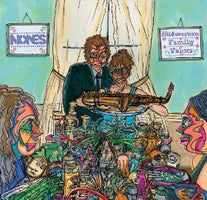 Nones - Midwestern Family Values - New Vinyl Record 2014 HoZac Records US Pressing (Limited to 400) - Chicago IL Punk / Post-Punk