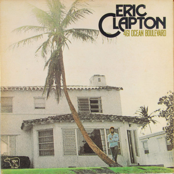 Eric Clapton - 461 Ocean Boulevard - VG+ Lp Record Stereo 1974 Original USA - Rock / Blues Rock