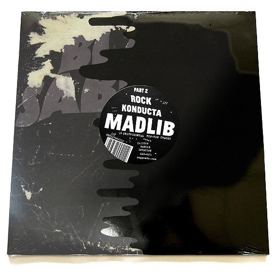 Madlib - Rock Konducta Part 2 - New Vinyl 2014 Madlib Invazion - Hip Hop / Beats