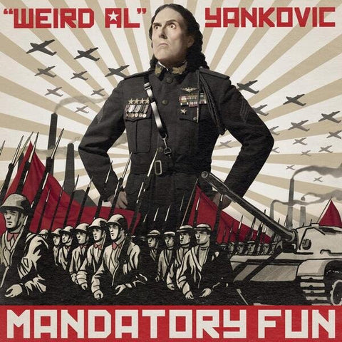 """Weird Al"" Yankovic - Mandatory Fun - New Vinyl - 2014 RCA - Comedy / Parody - Shuga Records Chicago"