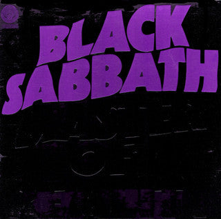 Black Sabbath – Master Of Reality - VG+ 1971 (Green Label Capitol Records Club Pressing With Different Cover Variation) -Rock - B19-050