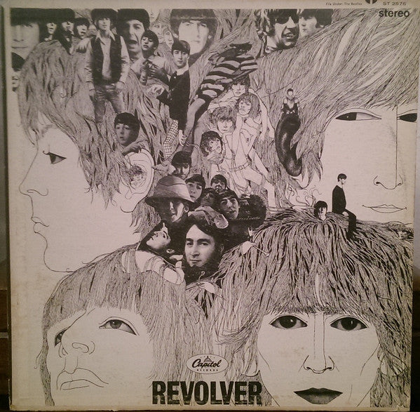 The Beatles - Revolver - VG+ Lp Record Stereo 1966 Capitol Original USA Vinyl - Pop / Psychedelic Rock - B7-029