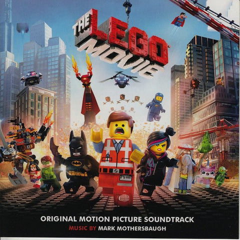 Mark Mothersbaugh ‎– The Lego Movie (Original Motion Picture) -New 2 Lp 2015 RSD Picture Disc Vinyl & Poster Record Store Day - Soundtrack
